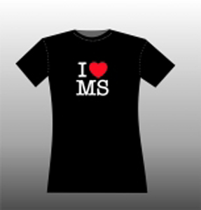 I love MS, T.Shirt