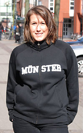 Münster sweater with zip